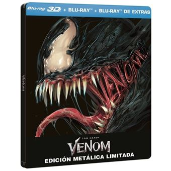 Venom - Steelbook 3D + Blu-Ray + Extras  Ed Limitada