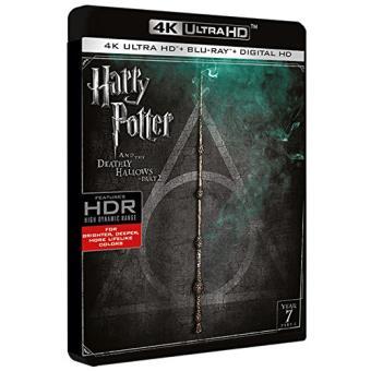 Harry Potter y las reliquias de la muerte. Parte 2 - UHD + Blu-Ray