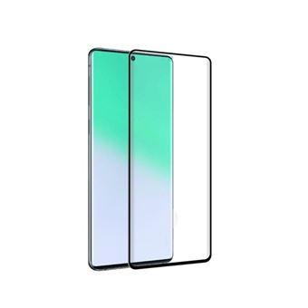 Protector de pantalla Muvit Cristal templado Marco negro para Samsung Galaxy S20 Ultra