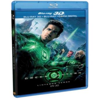 Green Lantern - Linterna Verde - Blu-Ray + 3D + Copia digital