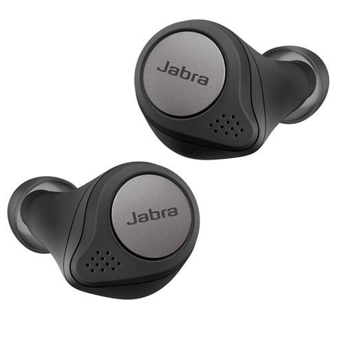 Auriculares Noise Cancelling Jabra Elite Active 75t True Wireless Negro/Titanio