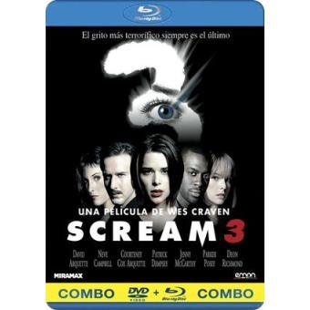 Scream 3 - Blu-Ray + DVD