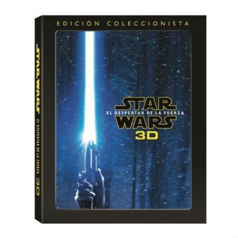 Star Wars VII: El despertar de la fuerza - Blu-ray + 3D + Extras