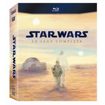 Star WarsPack Star Wars: Saga completa - Blu-Ray