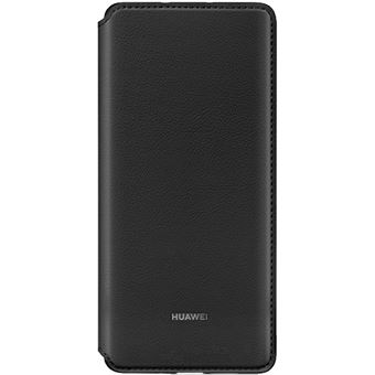 Funda Huawei Flip Wallet Cover Negro para P30 Pro