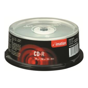 Imation Pack de 25 CD-R 700MB