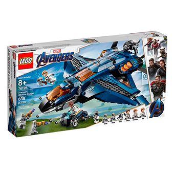 LEGO Marvel Super Heroes 76126 Quinjet Definitivo de los Vengadores