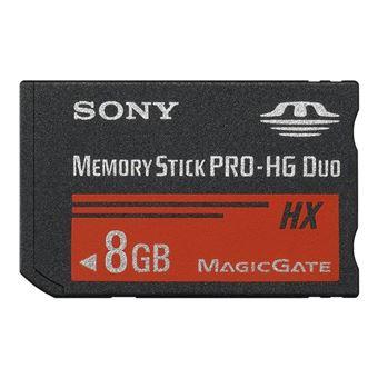 Sony Memory Stick Pro GH Duo Hx 8GB