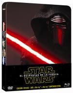 Star Wars Episodio VII: El despertar de la Fuerza - Steelbook Blu-Ray + DVD