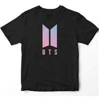 Camiseta Kpop BTS Premium Negro Talla L