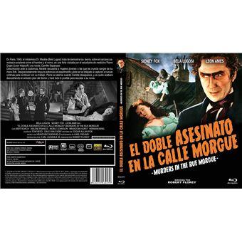 El Doble Asesinato en la Calle Morgue - Blu-Ray