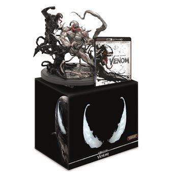 Venom - Ed Coleccionista - 3D + UHD + Blu-Ray + DVD + Figura
