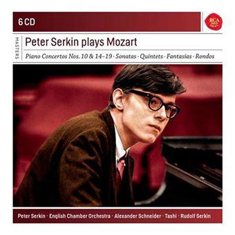 Peter Serkin Plays Mozart - 6 CD