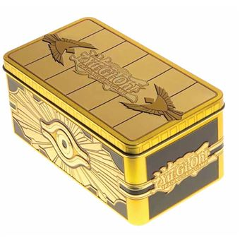 Yu-Gi-Oh! Cofre de oro sellado + Cartas