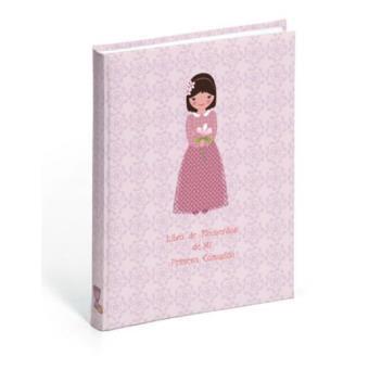 d3afd8c0806 Libro de recuerdos de mi primera comunión musical niña - -5% en ...