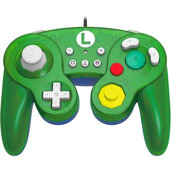 Mando Hori Battle Pad Super Mario - Luigi Nintendo Switch
