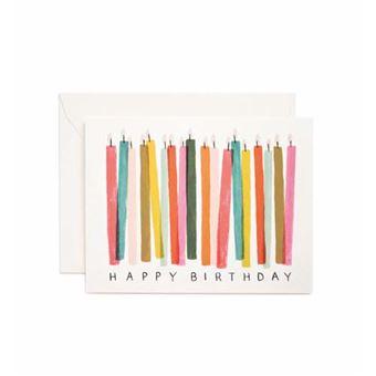 Postal Pepa Paper Happy Birthday Candle