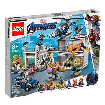 LEGO Marvel Super Heroes 76131 Batalla en el Complejo de los Vengadores