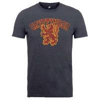 Camiseta Harry Potter - Gryffindor Gris Talla L