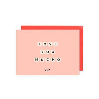 UO Postal - Love you mucho