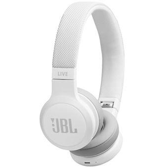 Auriculares Bluetooth JBL Live 400BT Blanco