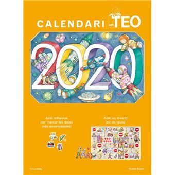 Calendari 2020 Teo - Ed català