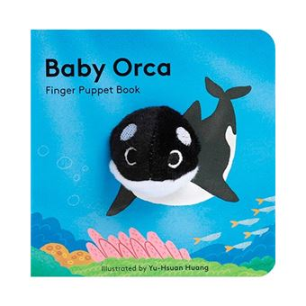 Baby Orca - Finger Puppet Book