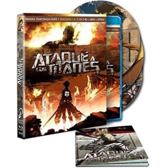 Ataque a los titanes - Temporada 1 - Primera Parte - Blu-Ray + Libreto