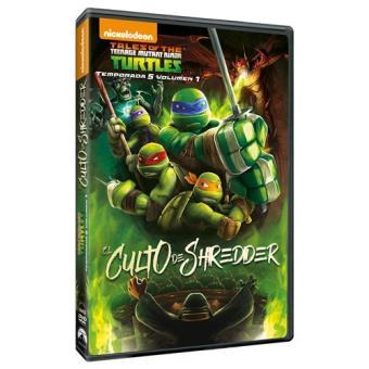 Las Tortugas Ninja  Temporada 5 Vol 1 El Culto de Shredder - DVD