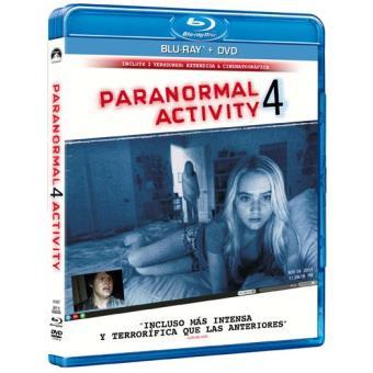 Paranormal Activity 4 - Blu-Ray + DVD