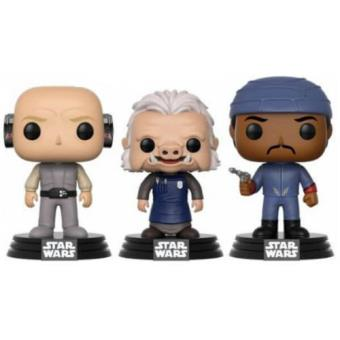 Figura Funko Star Wars - Lobot, Ugnaught y Bespin Guard