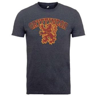 Camiseta Harry Potter - Gryffindor Gris Talla XL
