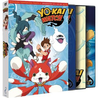 Yo-Kai Watch - Temporada 2 parte 3 - DVD