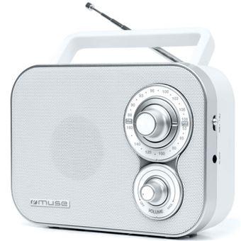 Radio Muse M-051 R AM/FM Blanco
