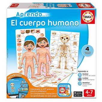Puzzle Aprendo... El cuerpo humano Educa Borrás