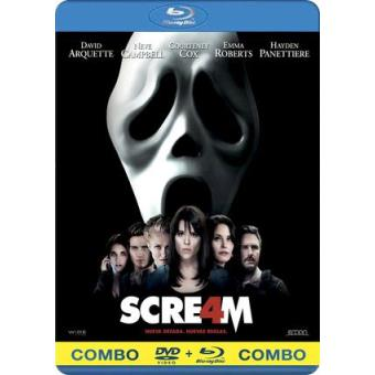 Scream 4 - Blu-Ray + DVD