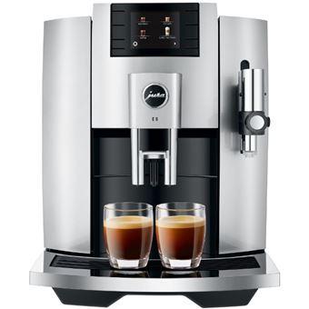 Cafetera Superautomática Jura E8 Plata