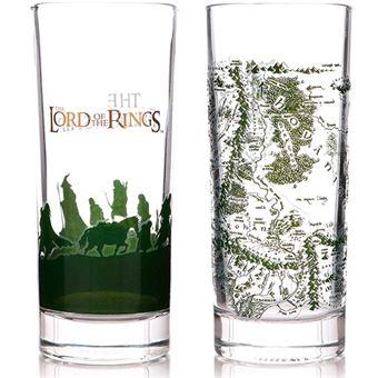 Set 2 vasos El Señor de los Anillos