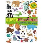 Animales del mundo-superpegatinas