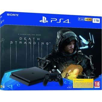 Consola PS4 Slim 1TB + Death Stranding