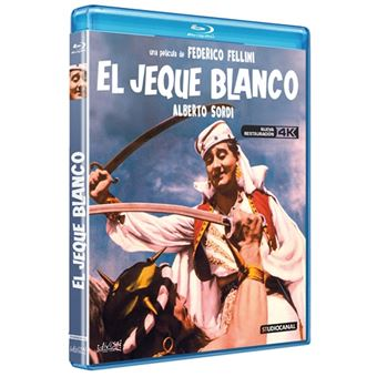 El jeque blanco - Blu-ray