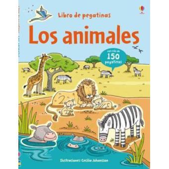 Los animales. Libro de pegatinas