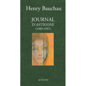 Journal d'Antigone 1989-1997