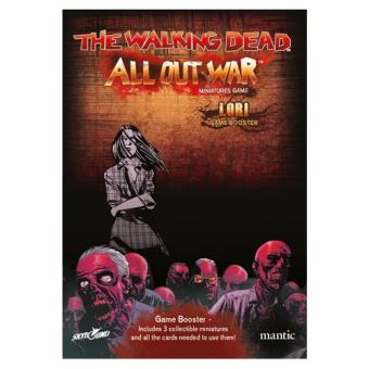 The Walking Dead. All Out War. Booster Lori