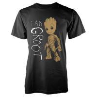 Camiseta Marvel Guardianes de la Galaxia - I´m Groot Gris Talla S