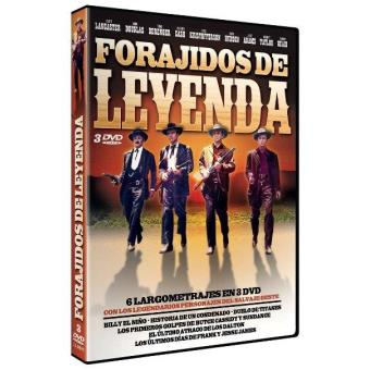 Pack Forajidos de leyenda - DVD