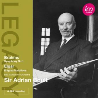 Sir Adrian Boult onducts Elgar & Brahms