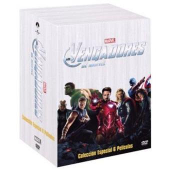 Pack Los Vengadores de Marvel - DVD