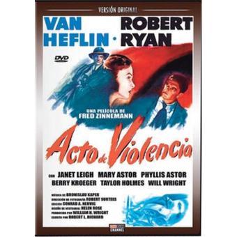 Acto de violencia - DVD
