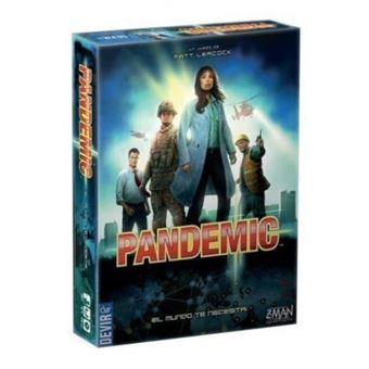 Pandemic. Tablero